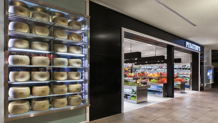 Pusateris gourmet store by GH A Des