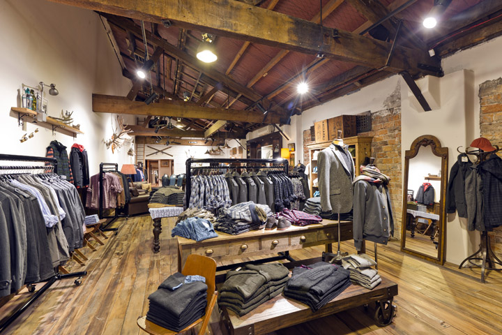 Contrast: High Street clothing stores have seen much slower growth recently