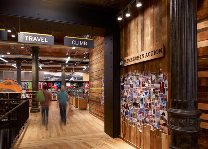 Rei retail store by callison new york retail design blog for Retail shop exterior design