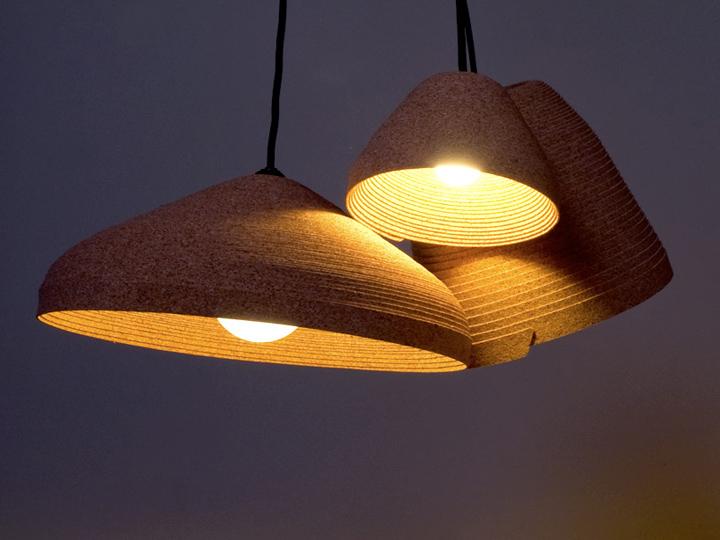 Roll Lamp By Sébastien Cordoleani