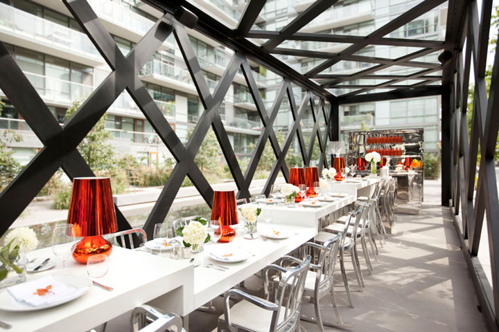 187 Scarpetta Dining Pavilion By Gh3 Toronto