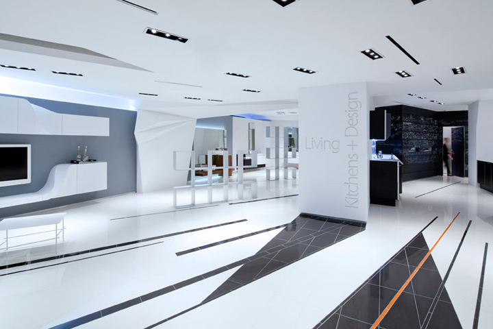 187 Snaidero Usa Showroom By Giorgio Borruso Design New York
