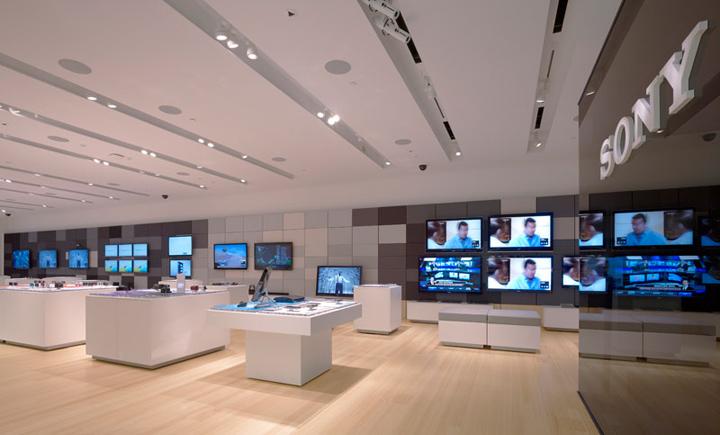 Sony Leap Westfield Store By Brand Allen Los Angeles