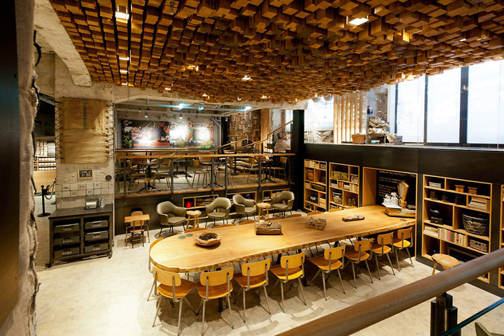 Starbucks concept store amsterdam retail design blog Interior design shops amsterdam