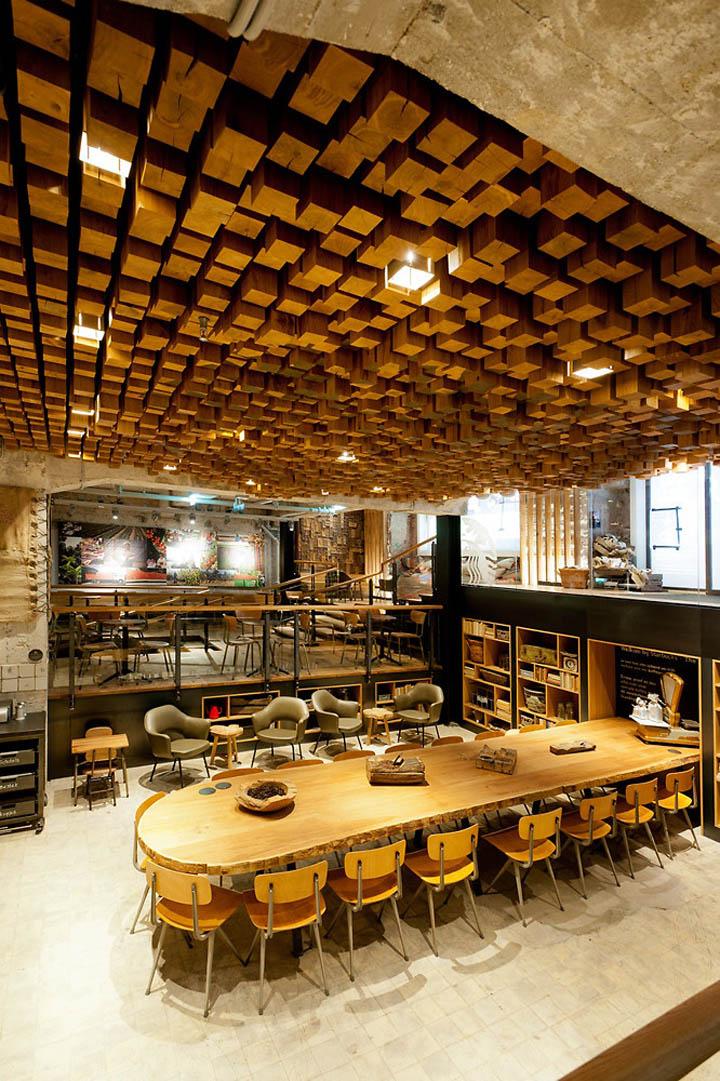 Starbucks concept store Amsterdam 06 Starbucks concept store, Amsterdam
