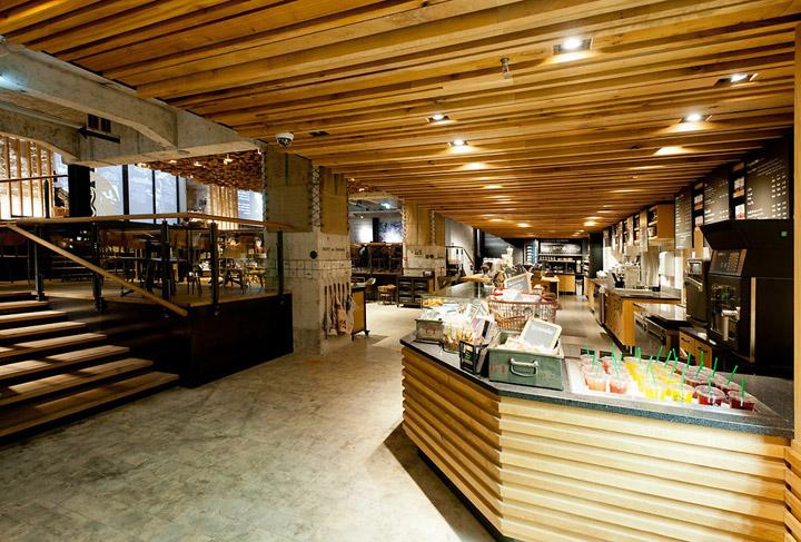Starbucks concept store Amsterdam 07 Starbucks concept store, Amsterdam