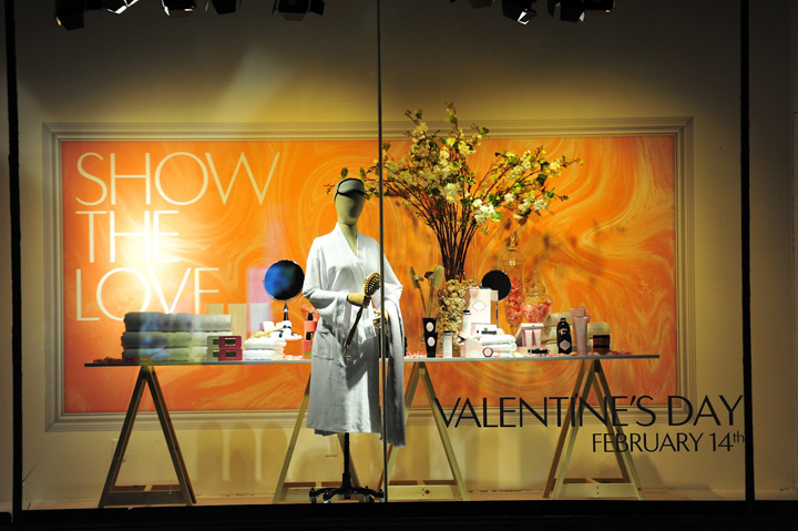 The Hudson Bay window displays Valentines Day 03 The Hudson Bay window displays, Valentines Day 2012