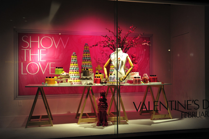 The Hudson Bay window displays Valentines Day The Hudson Bay window displays, Valentines Day 2012