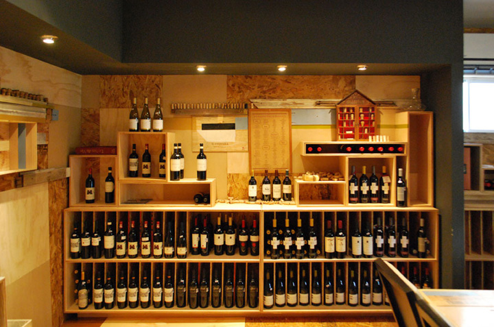 187 Wine Stores The Little Wine Market By Los Contratistas