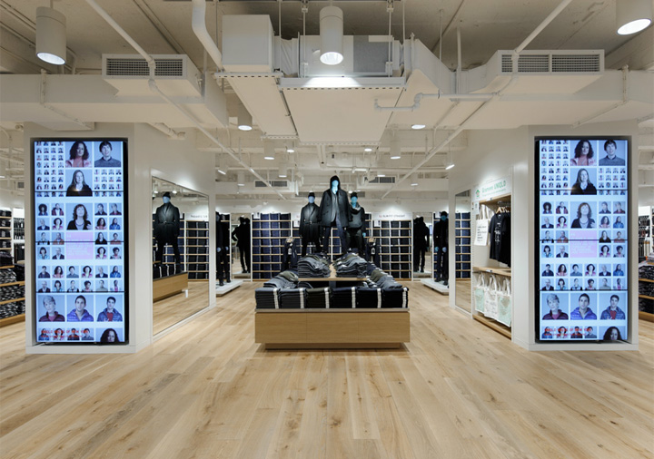 uniqlo flagship store by wonderwall new york zinensis