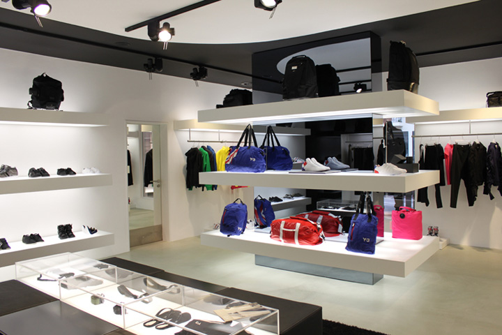 Y 3 shop in shop berlin retail design blog for Design shop berlin