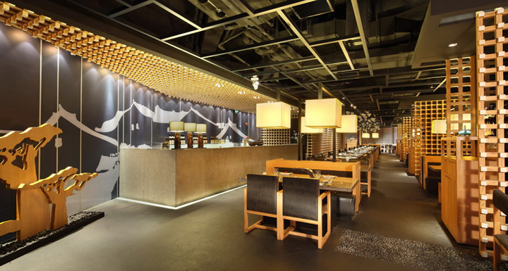 Japanese zen retail design