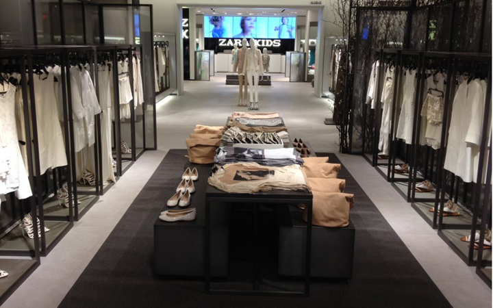 Lincoln Black Label >> » Zara Fifth Ave store by Elsa Urquijo Architects, New York