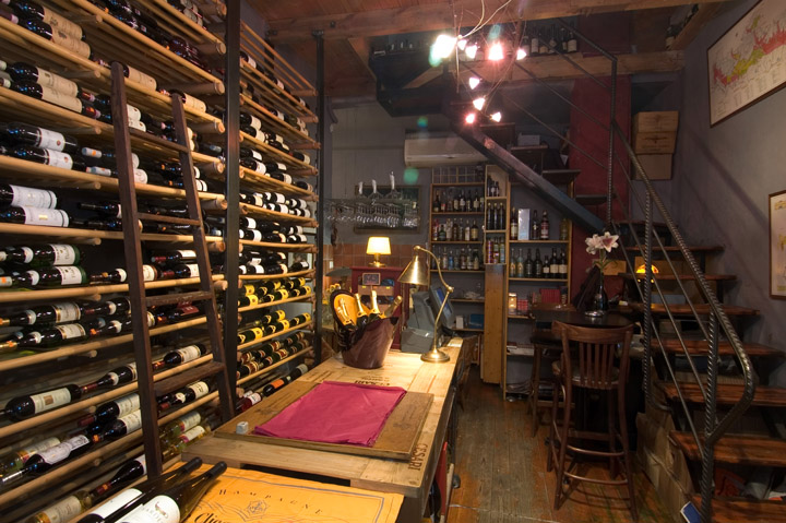 Wine shop retail design blog for Wine shop decoration