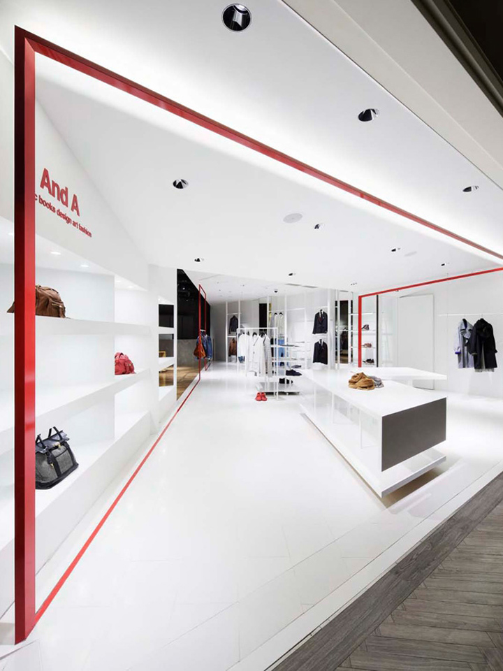 And a shop by moment design yokohama retail design blog for Retail interior design