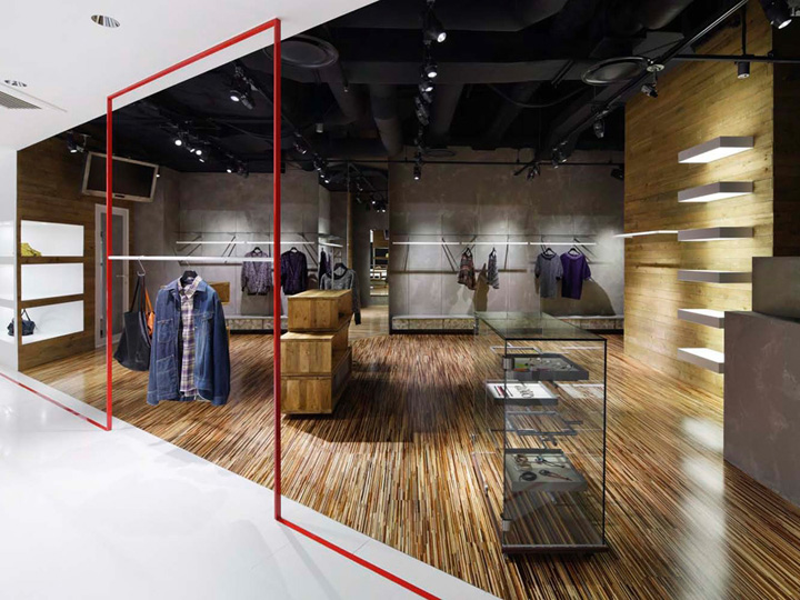 Clothing store retail design blog for Retail shop exterior design