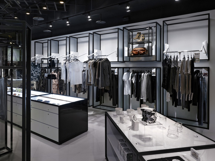 Artifacts nanshi store by straight square design taipei for Fashion retail interior design