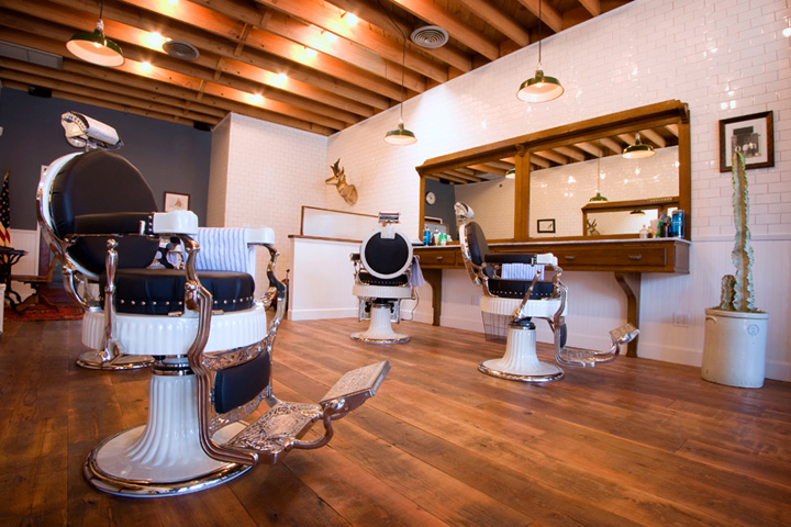 Baxter Finley Barber Shop Los Angeles Retail Design Blog