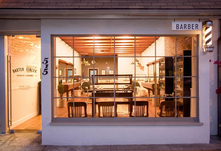 ... ! Baxter Finley, Barber & Shop, Los Angeles ? Retail Design Blog