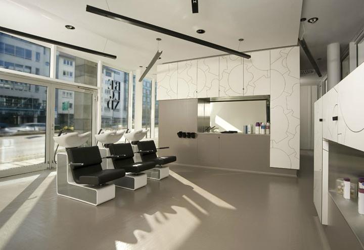 Beblond hair studio by raumspielkunst Stuttgart 02 HAIRDRESSER! Beblond flagship salon by raumspielkunst, Stuttgart