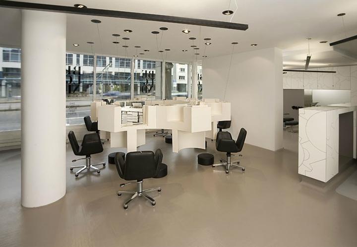 Beblond hair studio by raumspielkunst Stuttgart 03 HAIRDRESSER! Beblond flagship salon by raumspielkunst, Stuttgart