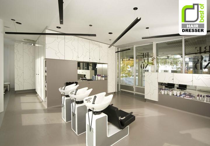 Beblond hair studio by raumspielkunst Stuttgart HAIRDRESSER! Beblond flagship salon by raumspielkunst, Stuttgart