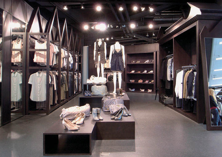 Retail Boutique Interior Design Modern Home Design And Decorating