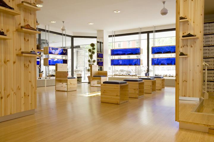 Birkenstock store by hn nowak braunschweig germany for Design shop deutschland