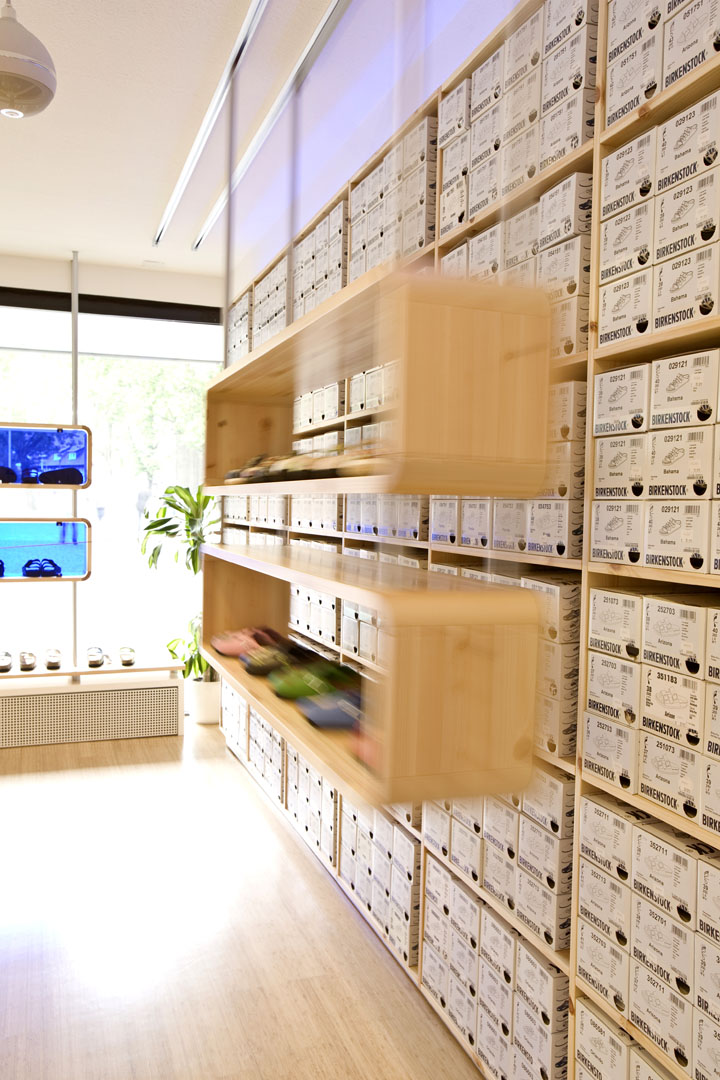 Birkenstock store by hn nowak braunschweig germany for Design hotel braunschweig