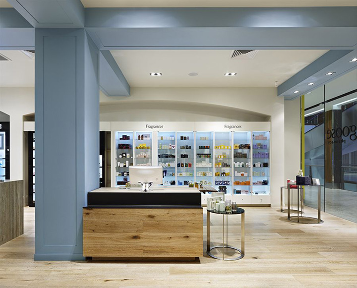PHARMACIES! Blue Goose pharmacy by Red Design Group, Melbourne ...