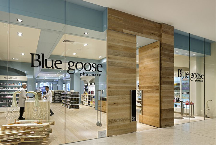 187 Pharmacies Blue Goose Pharmacy By Red Design Group