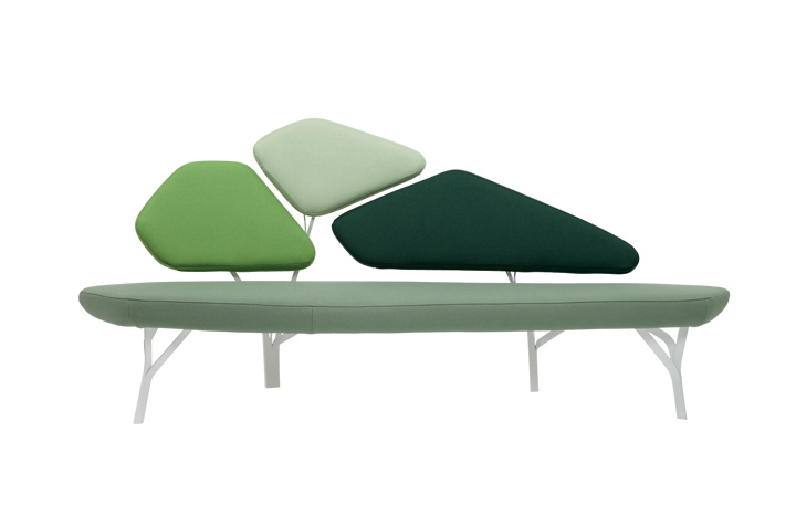 Borghese sofa by Noé Duchaufour Lawrance for La Chance » Retail ...