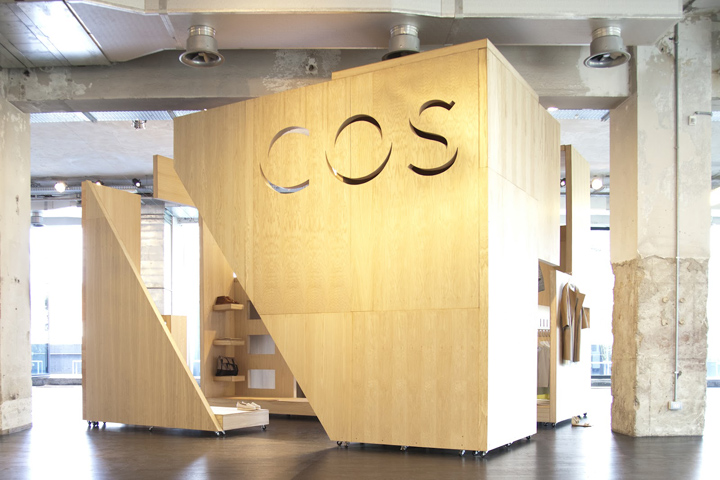 Cos retail design blog for Interior design in a box
