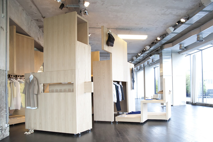 Cos Pop Up Shop For Salone Del Mobile Milan 187 Retail