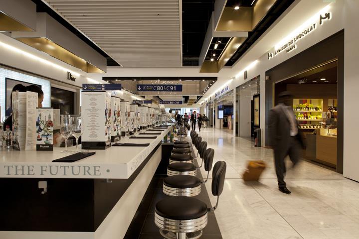 Charles de Gaulle airport shopping center WCIE 06 Charles de Gaulle airport shopping center by W&CIE, Paris