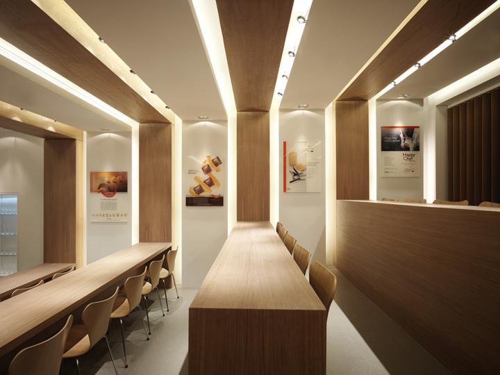 De Gusto Tasting Hall By C L Studio Lavezzola 187 Retail