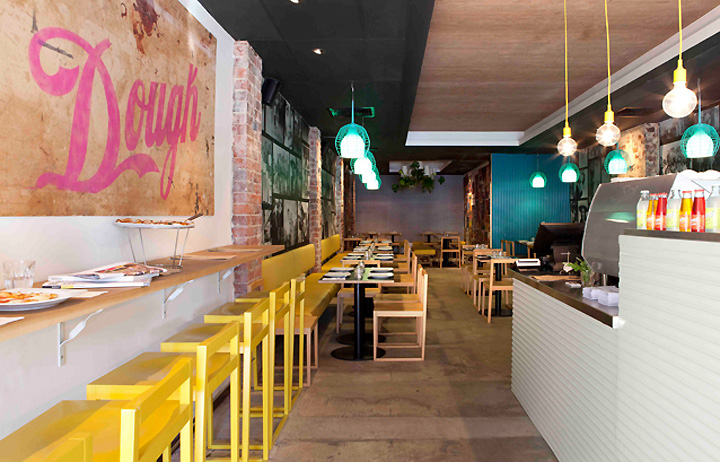 Pizza Restaurant Design Ideas On Urban Retail Store Interior Design
