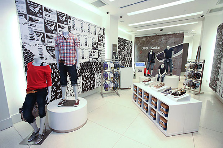 3982add2c32e Gap + Keds store concept by Reluctant Hero, New York