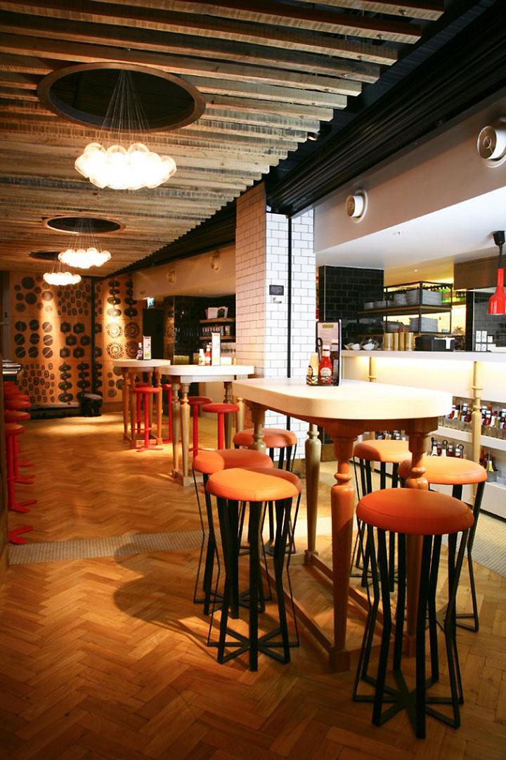 Giraffe Bar Grill By Harrison Sheffield