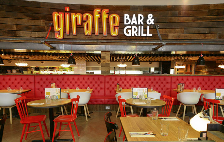 Giraffe Bar Grill By Harrison Sheffield Retail Design