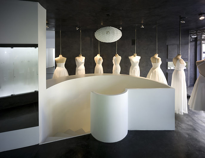 Hila Gaon wedding gown store by k1p3 architects, Tel Aviv » Retail ...