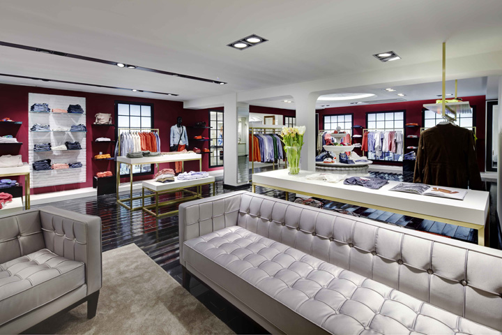 Hochstetter store by heikaus trier germany retail for Designhotel trier