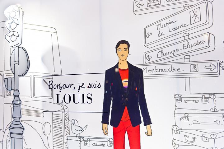 Hugo Boss Love Story Windows By Liganova Paris