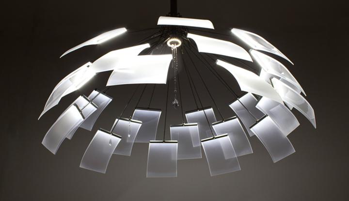 kronleuchter chandelier by denise hachinger retail design blog. Black Bedroom Furniture Sets. Home Design Ideas