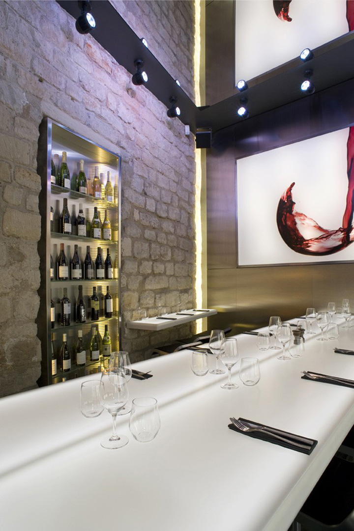 La Cave A Vin 9 Wine Bar By Cyrille Druart Paris 187 Retail