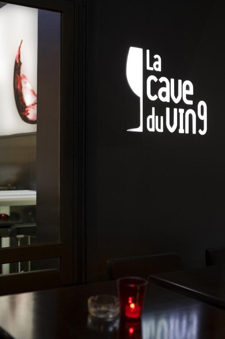 la cave a vin 9 wine bar by cyrille druart paris retail design blog. Black Bedroom Furniture Sets. Home Design Ideas