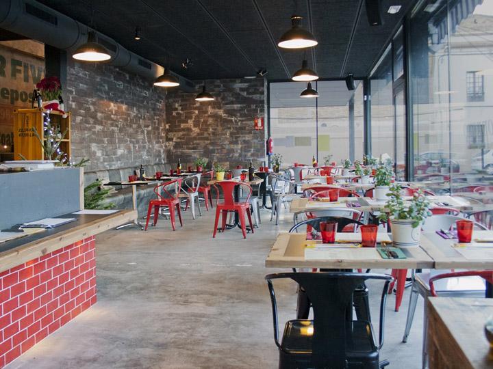 Los Sopranos restaurant by Pedro Scattarella, Barcelona » Retail