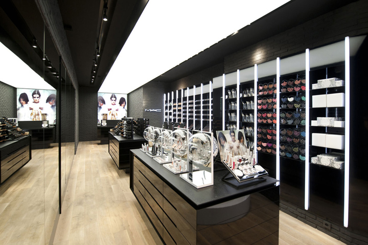 MAC Cosmetics store by Pinkeye, Liège » Retail Design Blog