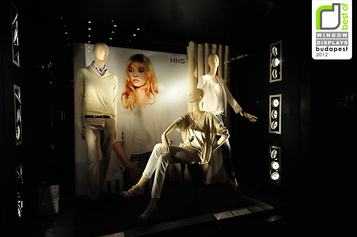 Mango window displays Budapest Mango window displays, Budapest