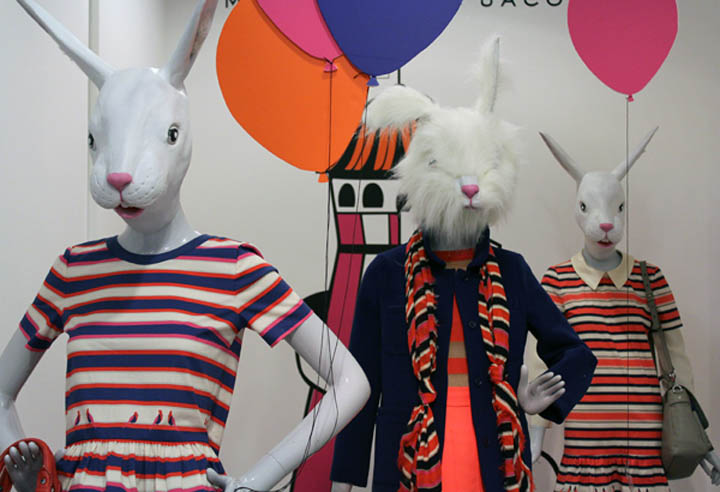 Selfridges retail design blog marc jacobs easter display at selfridges london negle Image collections